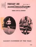Maine Running Vol. 4 No. 2 February 1983 by Robert E. Booker