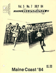 Maine Running Vol. 5 No. 7 July 1984