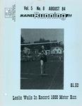 Maine Running Vol. 5 No. 8 August 1984