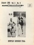 Maine Running Vol. 3 No. 8 August 1982 by Robert E. Booker