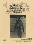 Maine Running & Outing Magazine Vol. 6 No. 3 March 1985 by Robert E. Booker