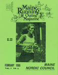 Maine Running & Outing Magazine Vol. 7 No. 2 February 1986 by Robert E. Booker