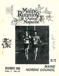 Maine Running & Outing Magazine Vol. 7 No. 12 December 1986