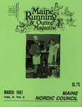 Maine Running & Outing Magazine Vol. 8 No. 3 March 1987 by Robert E. Booker