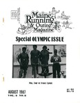 Maine Running & Outing Magazine Vol. 8 No. 8 August 1987