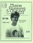Maine Running & Outing Magazine Vol. 9 No. 7 July 1988