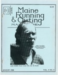 Maine Running & Outing Magazine Vol. 9 No. 8 August 1988