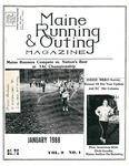 Maine Running & Outing Magazine Vol. 9 No. 1 January 1988