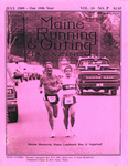 Maine Running & Outing Magazine Vol. 10 No. 7 July 1989