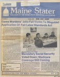 Maine Stater : October 1, 1985