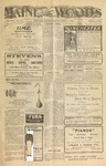 Maine Woods:  Vol. 36, Issue 25 - January 15, 1914 (Local Edition)