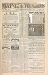 Maine Woods : Vol. XXVI, No. 23 - January 15,1904