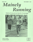Mainely Running January 1992 Issue Number 9