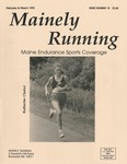 Mainely Running February & March 1992 Issue Number 10