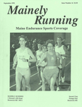 Mainely Running September 1992 Issue Number 16 by John W. LeRoy