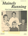 Mainely Running December 1992 Issue Number 18 by John W. LeRoy