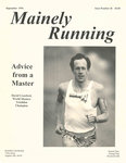 Mainely Running September 1994 Issue Number 36 by Lance Tapley