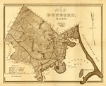 Map of Duxbury, Mass. 1923 by Henry A. Fish