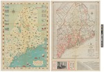 Route and Pictorial Map of Maine 1934 by Maine Highway Commission