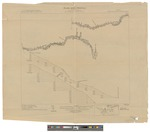 Dead River Drainage Basin, Maine: Plan and Profile Sheet 1 of 9 by State of Maine Water Storage Commission, U.S. Geological Survey, R B. Marshall, and Frank Sutton