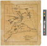 Penobscot Lake and Vicinity: Sketch Map 1929