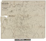 Farrar's New Map of the Rangeley Lakes Region and the Headwaters of the Connecticut, Magalloway, Androscoggin, Sandy and Dead Rivers by Charles A. J. Farrar and Daniel Barker