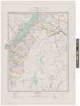 Quebec, Montmagny Sheet by Canada Dept. of the Interior and J E. Chalfour