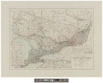 Map of Southern Ontario and Quebec: Showing Natural Resources and Roads 1925 by Canada Dept. of the Interior
