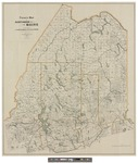 Frink's Map of Northern Maine: for the Use of Lumbermen and Sportsmen by Harry Arthur Frink