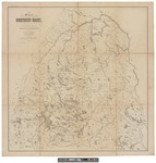 Map of Northern Maine: Specially Adapted to the Uses of Lumbermen and Sportsmen 1896 by Lucius L. Hubbard