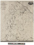 Map of the Headwaters of the Aroostook, Penobscot and Saint John Rivers. by Thomas Sedwick Steele