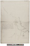 Draught of a Route from Fort Pownal on Penobscot River 1764