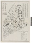 Maine Forest Service Divisional Map 1940 by U.S. Bureau of the Census and Maine. Department of Forestry