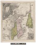 Partie orientale de la Nouvelle France ou du Canada by Albrecht Carl Seutter