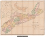 Mackinlay's Map of the Province of Nova Scotia: Including the Isle of Cape Breton by W. A. Hendry
