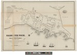 Falmouth Neck as it was when destroyed October 18, 1775 by Bailey & Noyes