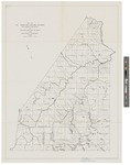 Map of Saint John Allagash Region 1932 by Great Northern Paper Co