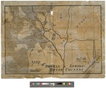 Map of Bowlin and Springbrook Country by Charles E. McDonald