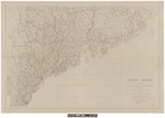 State of Maine : Compiled from U.S. Geological Survey, U.S. Coast and Geodetic Survey, U.S. Boundary Commission and Various State and Private Maps 1922 by Maine Water Power Commission, State Highway Commission, and Land Agent and Forest Commissioner