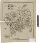 Map of Lincoln and Sagadahoc Counties Maine 1895 by J.H. Stuart and Co