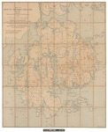 Map of Mount Desert Island, Maine 1896 by Waldron Bates