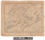 A Map of the District of Maine : with New Brunswick & Nova Scotia by Amos Doolittle