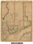 Improved Map of Maine 1835