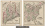 Gray's Atlas Map of Maine by Ormando Wyllis Gray