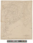 "Map Prepared to Accompany Gen. Chamberlain's Centennial Address ""Maine in History"" 1877 by Sprague, Owens & Nash, printers to the State"