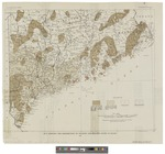 Map Showing Distribution of Granite and Related Rock in Maine. 1922 by Geological Survey (U.S.)