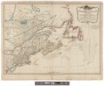 General Map of the Northern British Colonies in America Which Comprehends the Province of Quebec 1776