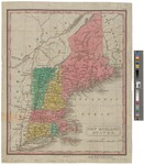 New England States 1829 by J. T. Young