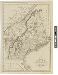 Map of Maine, New Hampshire and Vermont 1832 by Fenner, Sears & Co and Simpkin, Marshall and Co.