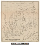 A Sketch Map of a Portion of Plym. Colony by J. K. Wiggins